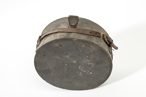 Captured Confederate Wooden Canteen - 3