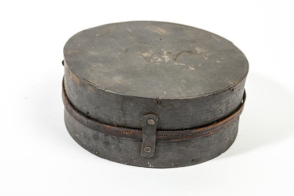 Captured Confederate Wooden Canteen - 6