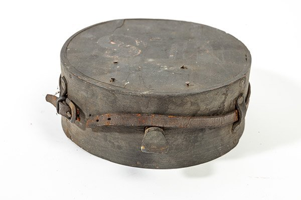Captured Confederate Wooden Canteen - 7