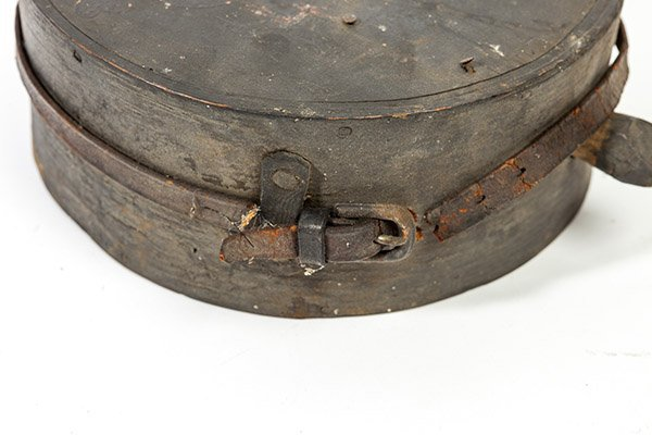 Captured Confederate Wooden Canteen - 8