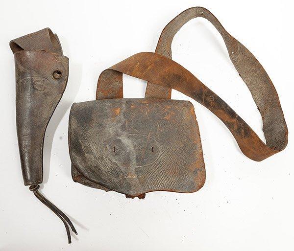 Civil War Cartridge Box & Holster