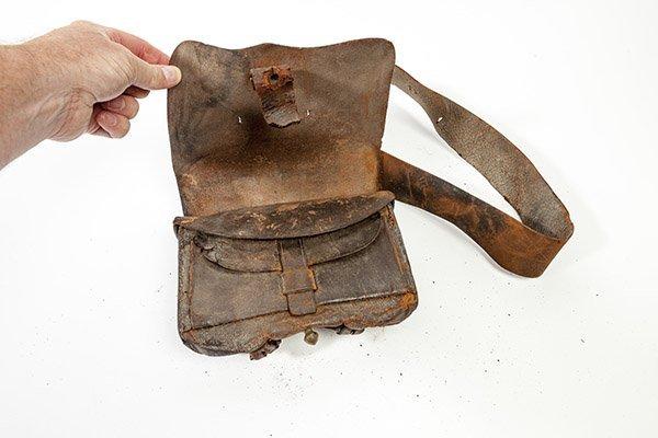 Civil War Cartridge Box & Holster - 3