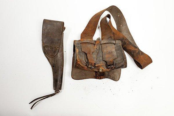 Civil War Cartridge Box & Holster - 5