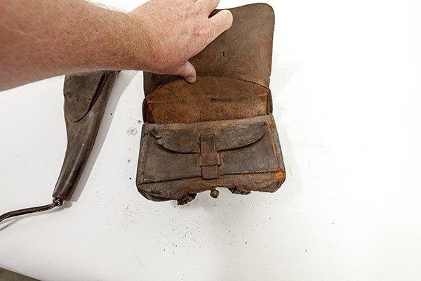 Civil War Cartridge Box & Holster - 6