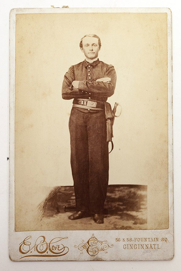 Cabinet Photograph of a Soldier