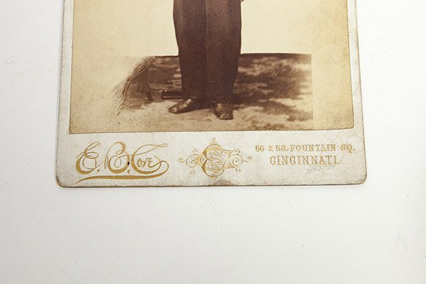 Cabinet Photograph of a Soldier - 2