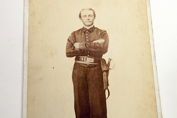 Cabinet Photograph of a Soldier - 3