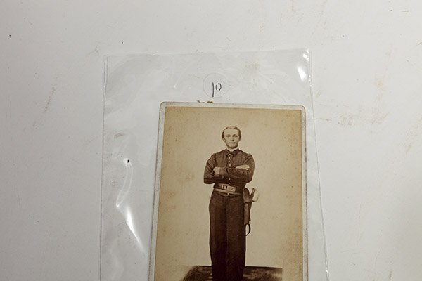 Cabinet Photograph of a Soldier - 5