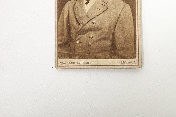 Two Albumen CDV Photos of R.E. Lee - 5