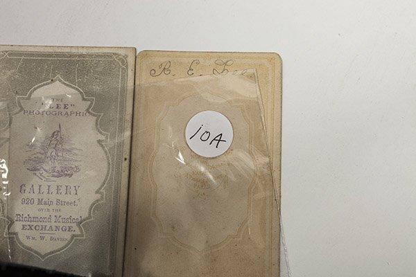 Two Albumen CDV Photos of R.E. Lee - 6
