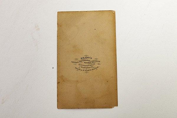 An Albumen CDV of Seth Kinman - 3