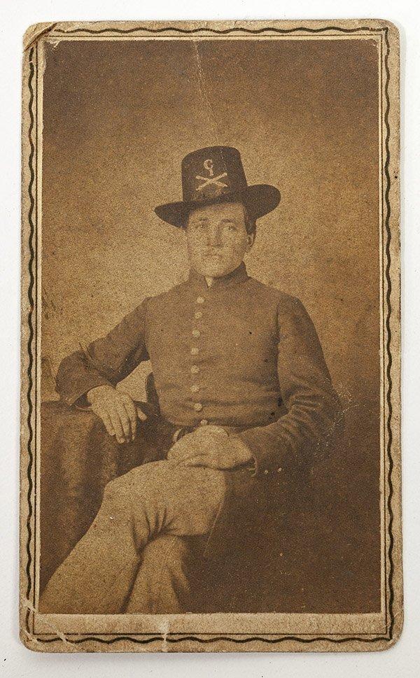 Albumen CDV Union Artilleryman