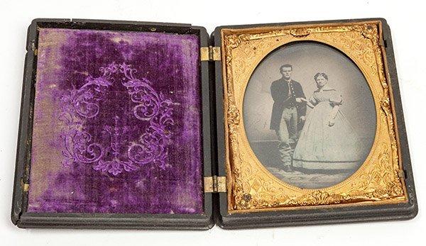 Quarter Plate Civil War Photograph
