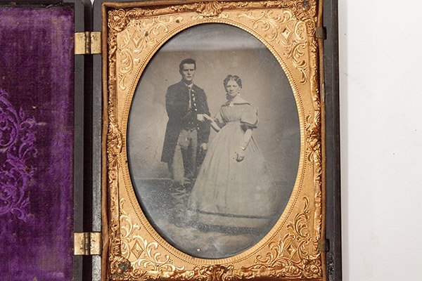 Quarter Plate Civil War Photograph - 2