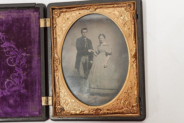 Quarter Plate Civil War Photograph - 4