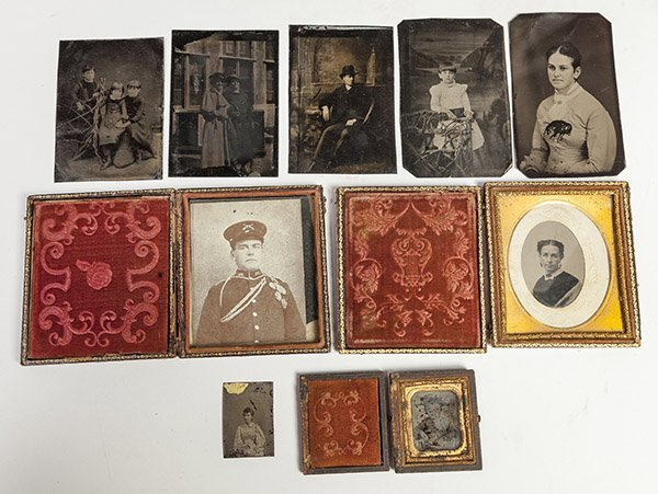 Group of Early Tintype Photographs