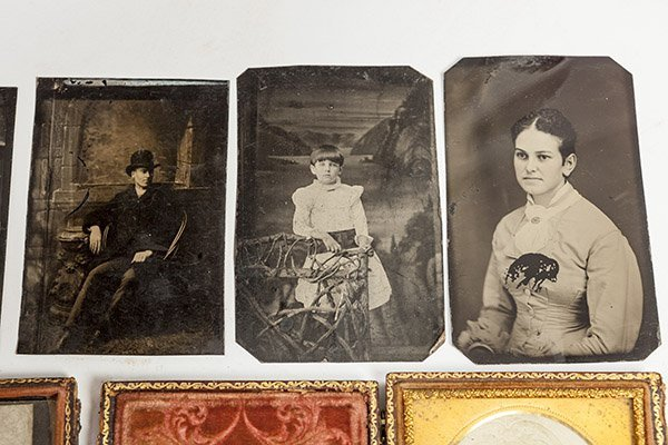 Group of Early Tintype Photographs - 5