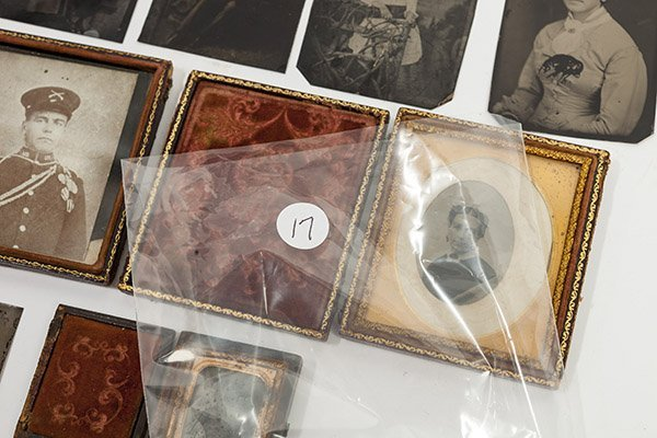 Group of Early Tintype Photographs - 6