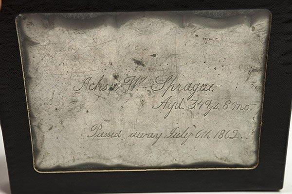 Civil War Era Flasks & Memorial Plaque - 2