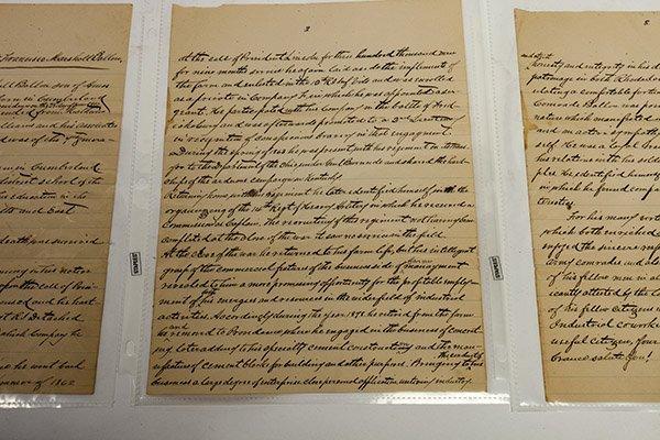 Civil War Manuscript Account of Lt. Francisco Marshall - 3