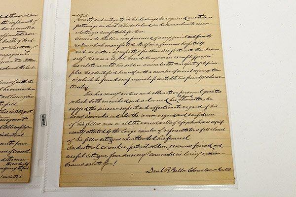 Civil War Manuscript Account of Lt. Francisco Marshall - 4