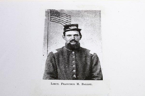 Civil War Manuscript Account of Lt. Francisco Marshall - 7