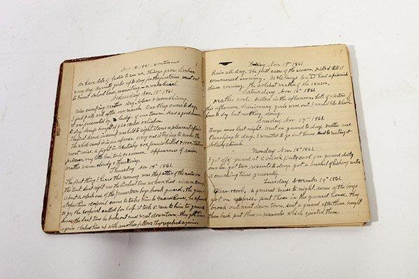 John H. McPherson 74 OVI Civil War Diary - 3