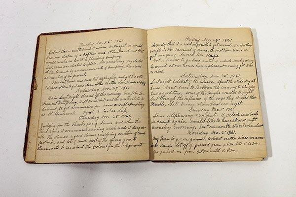 John H. McPherson 74 OVI Civil War Diary - 4