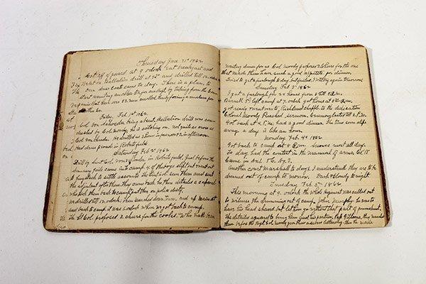 John H. McPherson 74 OVI Civil War Diary - 5