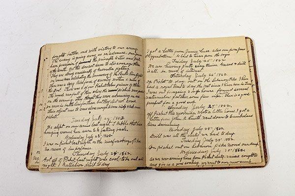 John H. McPherson 74 OVI Civil War Diary - 8