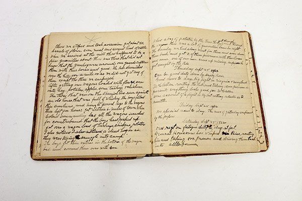 John H. McPherson 74 OVI Civil War Diary - 9