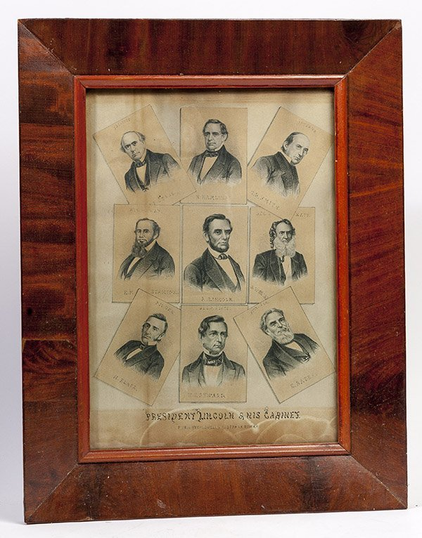 Early Lincoln Lithograph