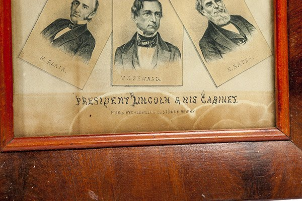 Early Lincoln Lithograph - 2