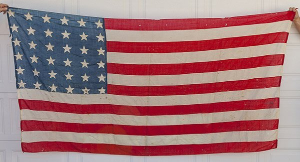 Civil War 36 Star U.S. Flag