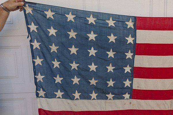 Civil War 36 Star U.S. Flag - 2