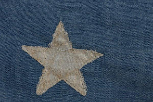 Civil War 36 Star U.S. Flag - 3