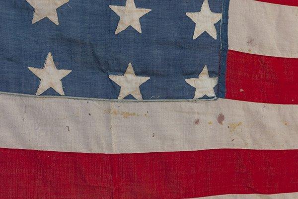 Civil War 36 Star U.S. Flag - 4