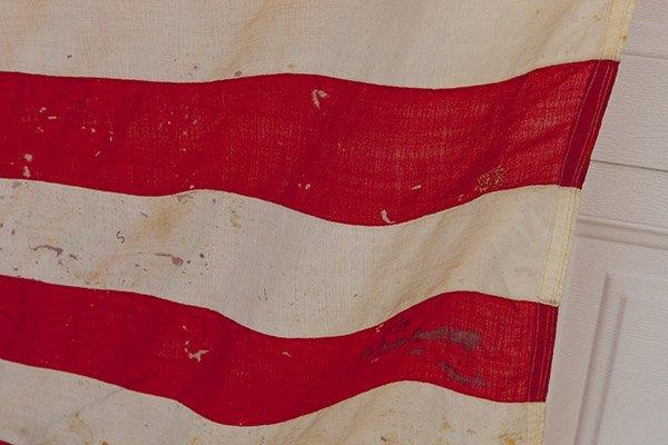 Civil War 36 Star U.S. Flag - 5