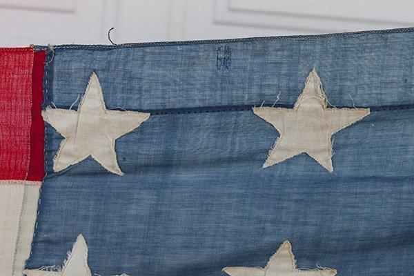 Civil War 36 Star U.S. Flag - 7