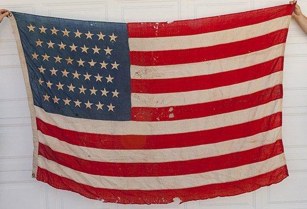 45 Star U.S. Flag