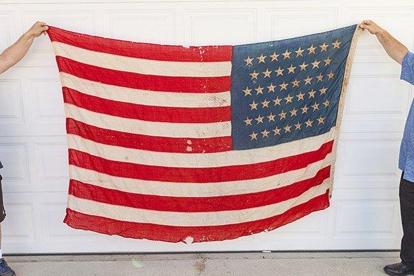 45 Star U.S. Flag - 5