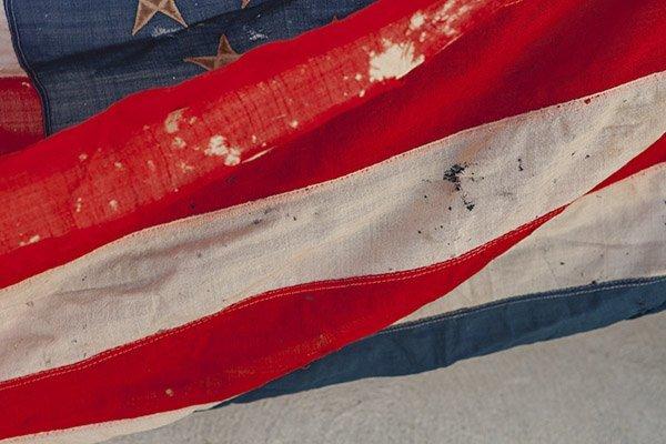 45 Star U.S. Flag - 9