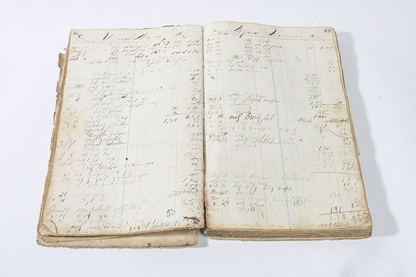 1860's Ash Ridge, Ohio General Store Ledger - 2