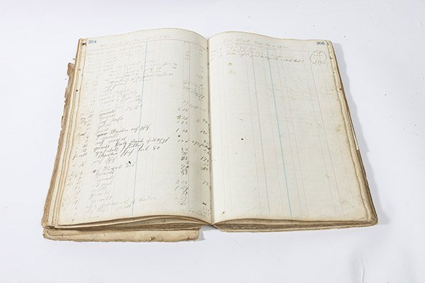 1860's Ash Ridge, Ohio General Store Ledger - 5