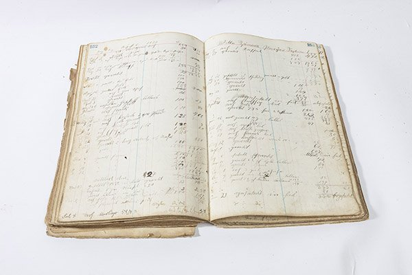 1860's Ash Ridge, Ohio General Store Ledger - 6