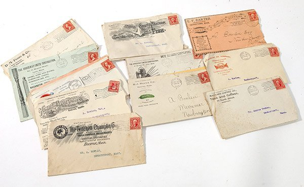 Advertising Postal Covers Including Heinz