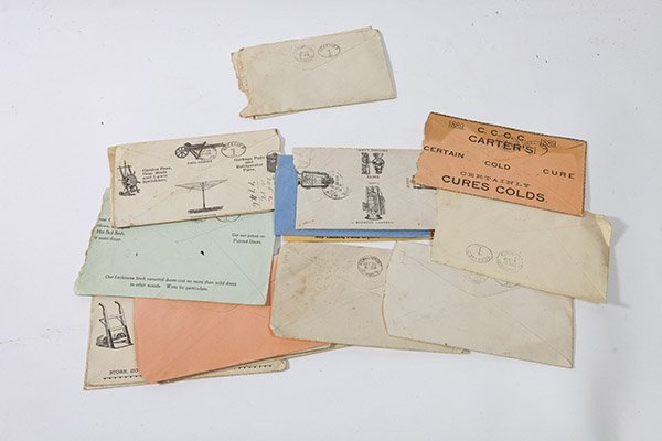 Advertising Postal Covers Including Heinz - 4