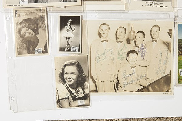 Entertainer Autoggraphed Photos - 3
