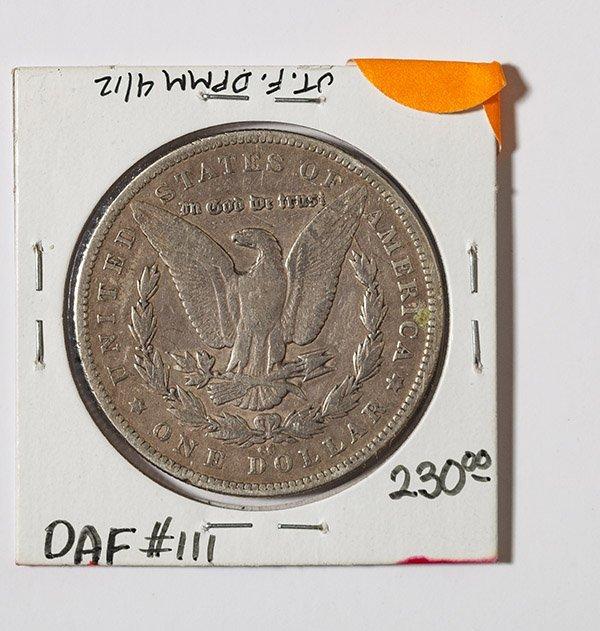 1879-CC Morgan Silver Dollar - 2