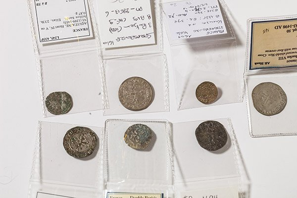 Lot of 7 France Medieval Coins - 2